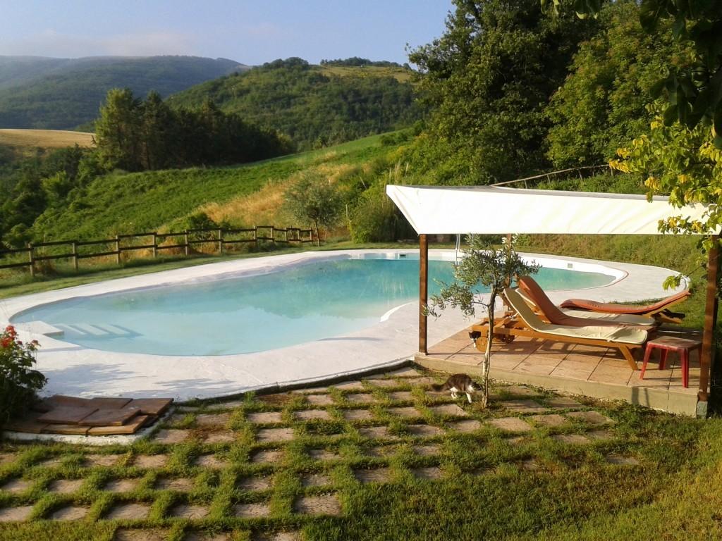Antico casale Pietra Rosa. Piscina panoramica Relax Confort - Urbino