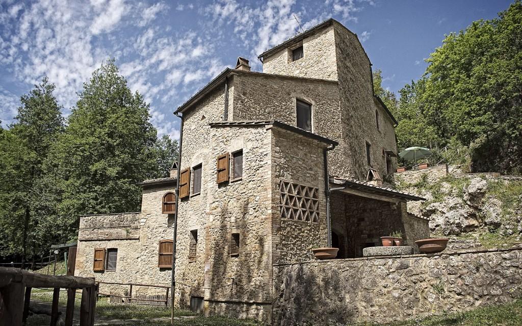 Antico Mulino ad acqua ristrutturato - San Gimignano