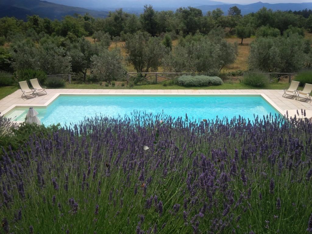 Piccola colonica con piscina bellissima vista sul Chianti - Loro Ciuffenna