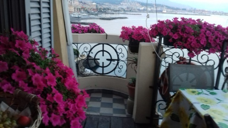 House on the sea - Genoa