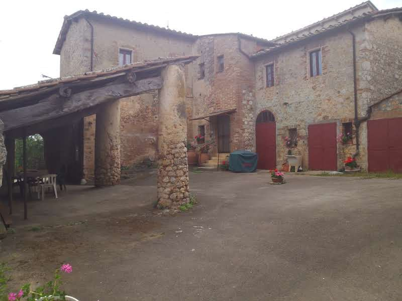 Apartment casale merged at the Château de VIlla - Monteriggioni