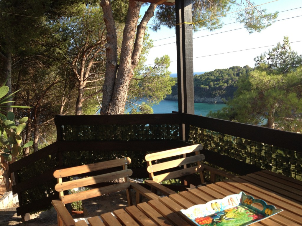 CHALET OVERLOOKING THE MOST BEAUTIFUL BEACH OF ELBA - Campo nell'Elba