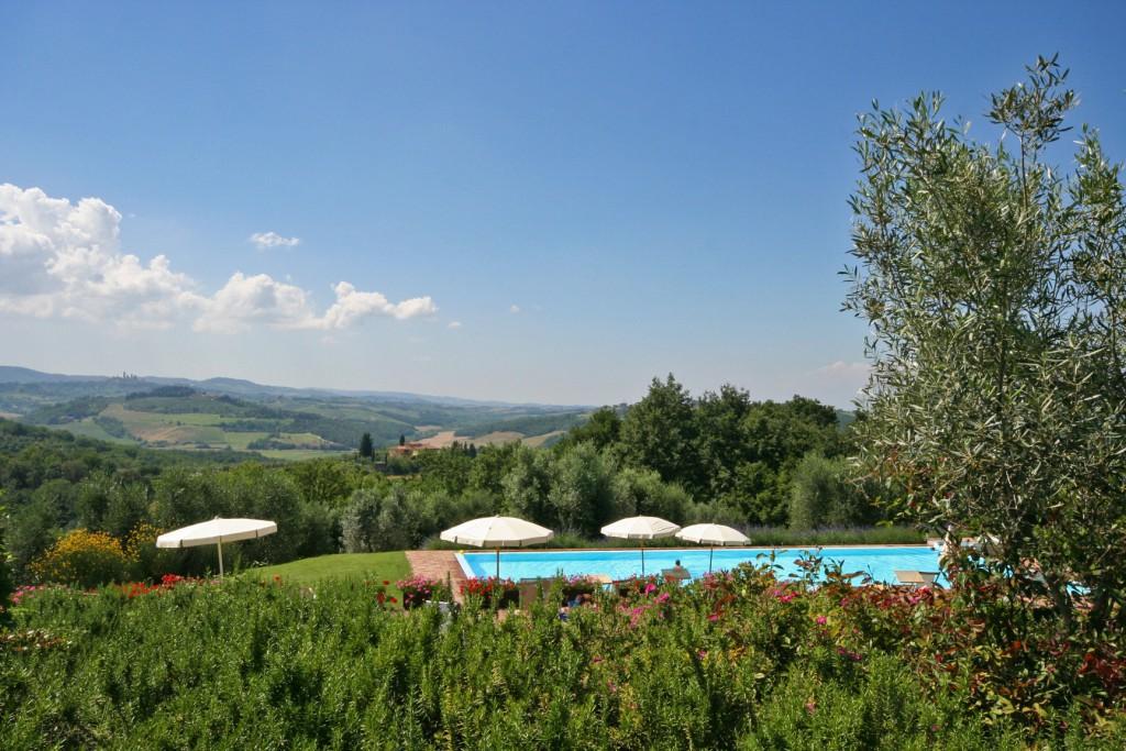 Podere immerso nelle colline del Chianti - San Gimignano